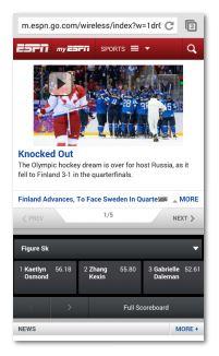 ESPN Screen Capture