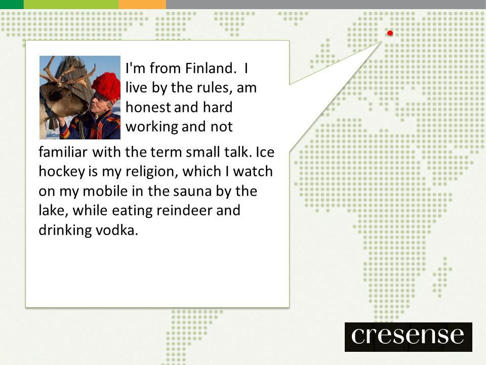 UX Fellows - Finland - Cresense