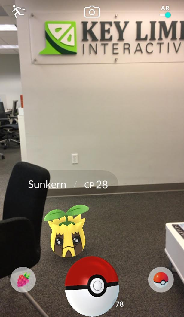What's The Difference Between VR, AR and MR Pokemon Go Picture in Key Lime Interative