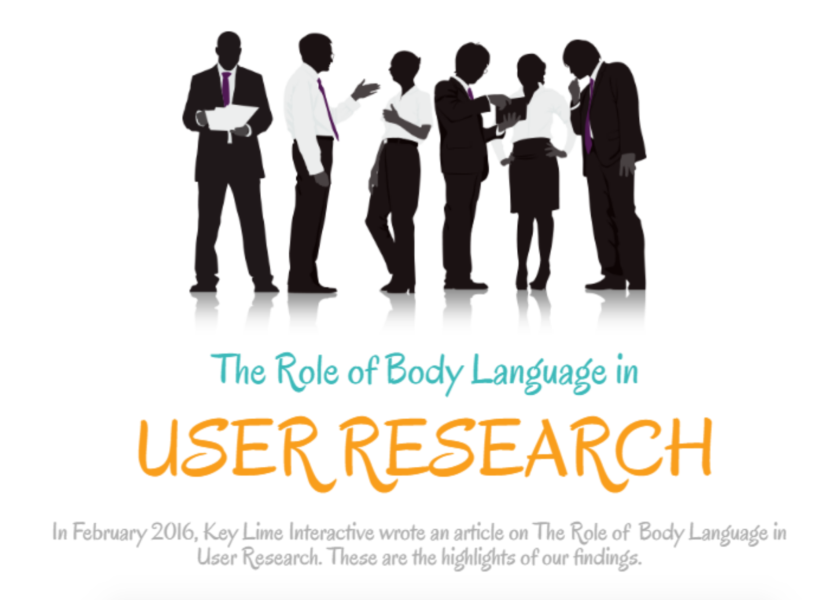 role of body language How can the answer be improved.